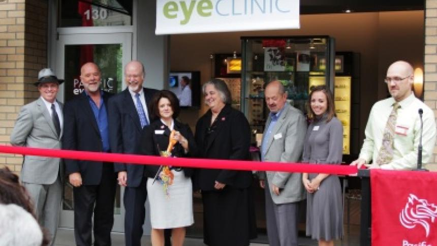 Pacific EyeClinic Beaverton grand opening
