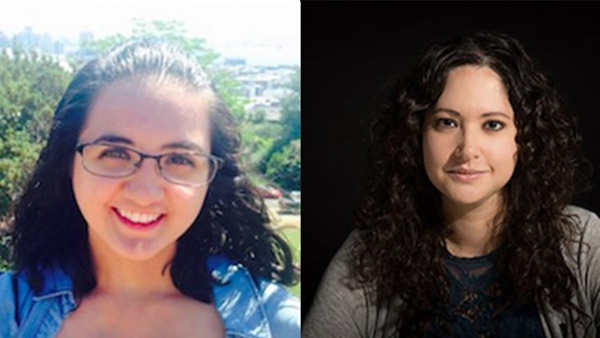 Jasmine Libert '18 and Anita Gill MFA '18, Fulbright recipients