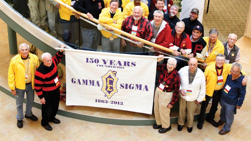 Gamma Sigma Group gathered in 2013