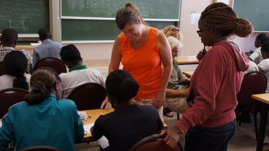 Nancy Ann Neudauer in Africa