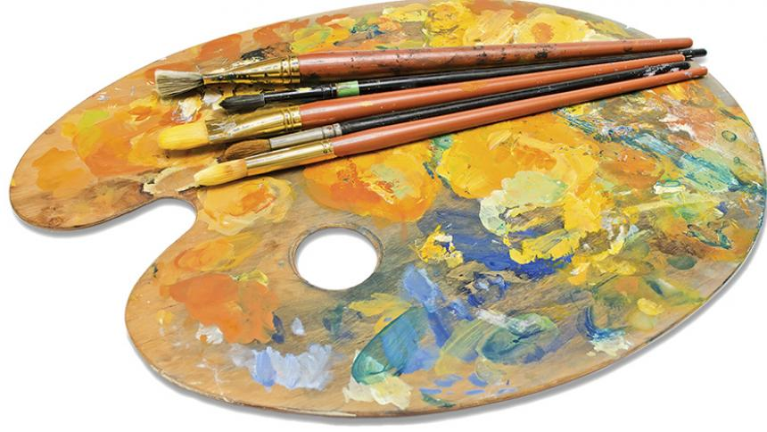 Artwork Pallette