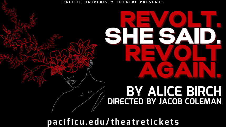 Flyer for spring play