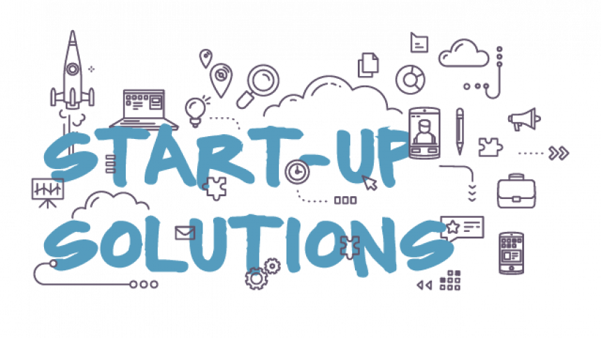 Start-Up Solutions Illustration