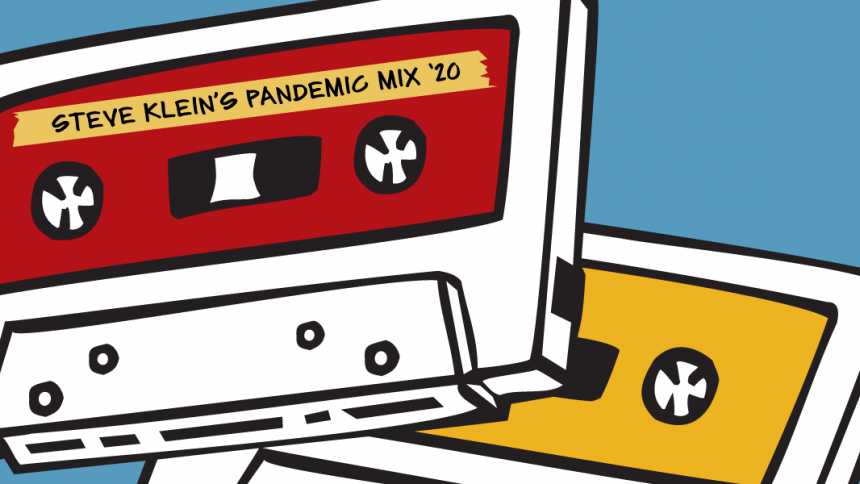 Steve Klein's Pandemic Mix graphic