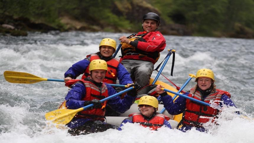 Whitewater Rafting on Clackamas River