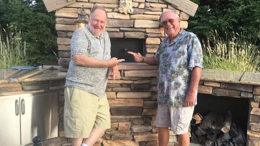 Vic Pickering '67 and Bob Crane '67