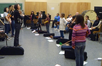 Teaching at string project