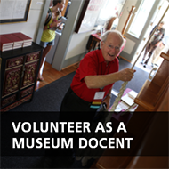 Volunteer as a Museum Docent