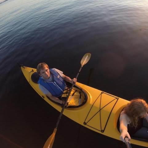 Langston Engle. Outdoor Pursuits Instructor, sea kayaking